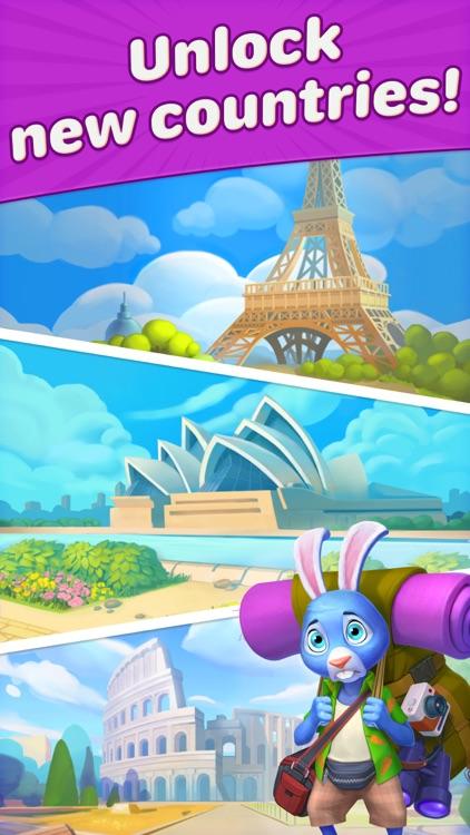 Travel Blast: Puzzle Adventure screenshot-8