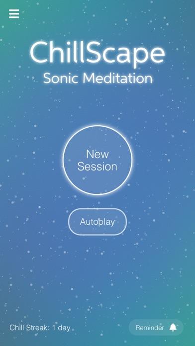 ChillScape - Sonic Meditation Screenshots