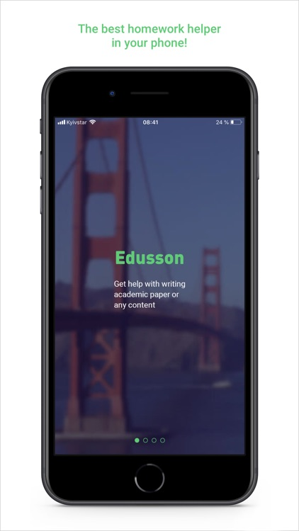 Edusson: homework help online screenshot-0