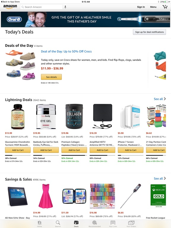 Screenshot #2 for Amazon - Shopping made easy