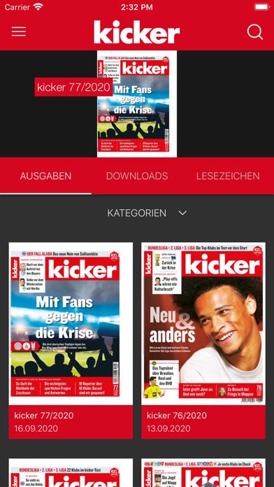 messages.download kicker eMagazine software