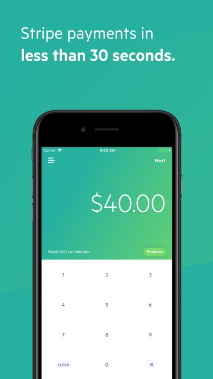 Payment - Stripe Card Charges screenshot-0
