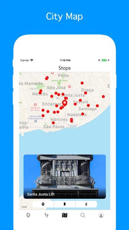 Lisbon - Travel Guide & Map screenshot-3