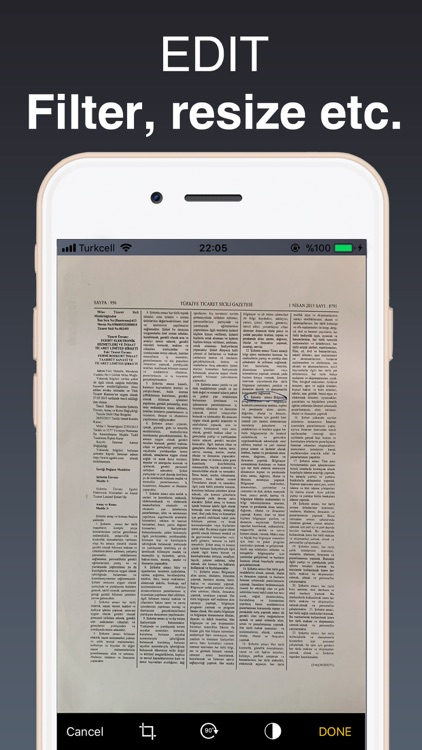 PDF Scanner & File Converter screenshot-3