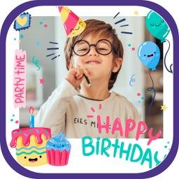 Birthday Cake Frames & Photo