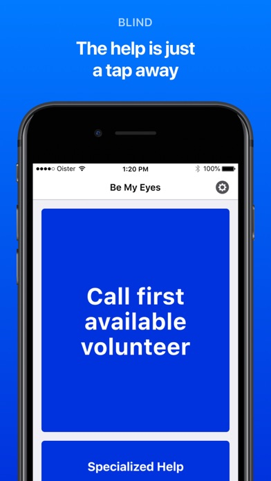 Be My Eyes – Helping blind see