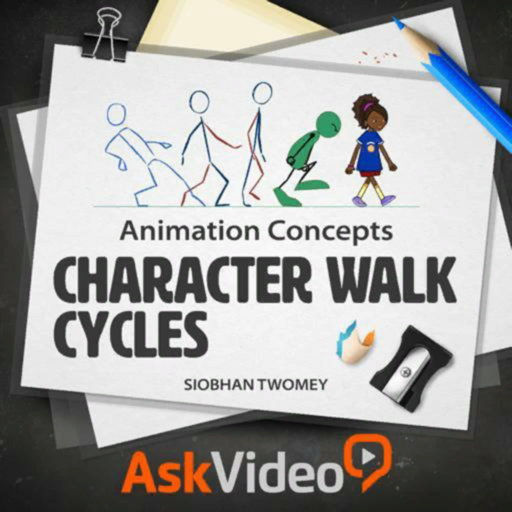 Character Walk Cycles Guide