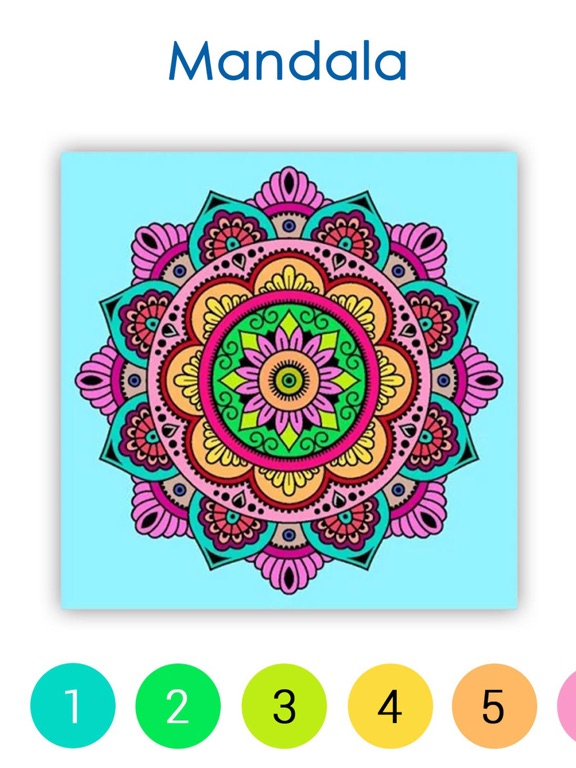Paint by Number Coloring Games screenshot 10