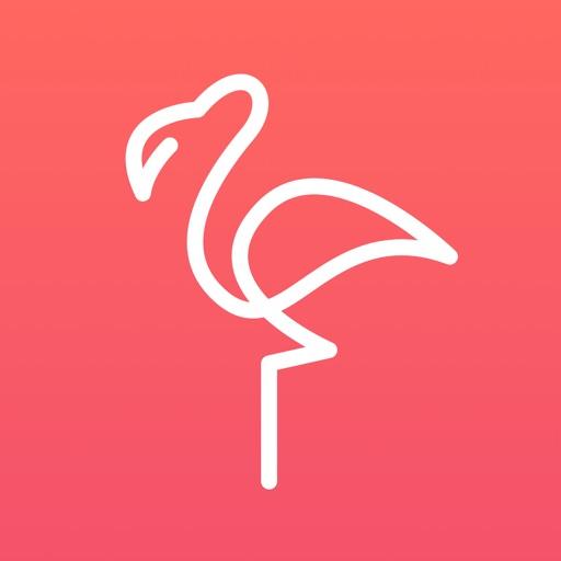 フラミンゴ – 英会話・中国語・韓国語の語学学習アプリ