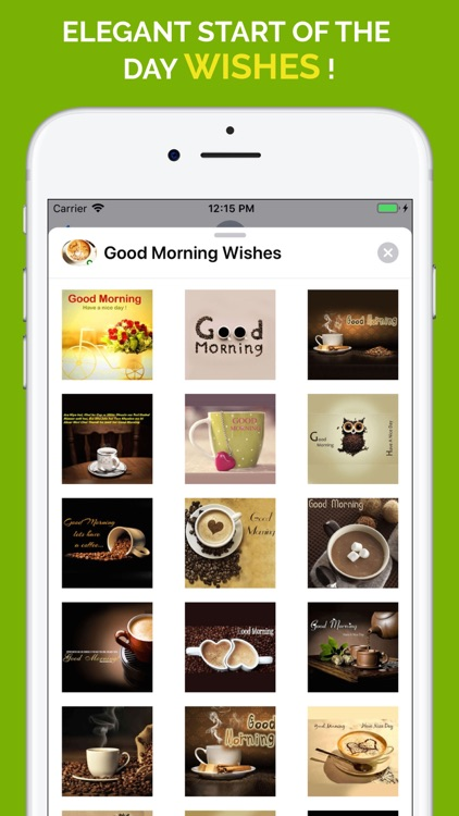 Good Morning Wishes Stickers screenshot-6