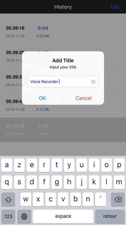 Voice Recorder , voice memo screenshot-4