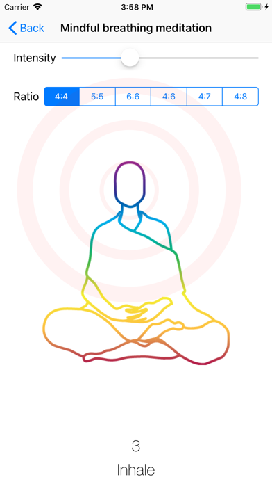 Mind your breathing app image