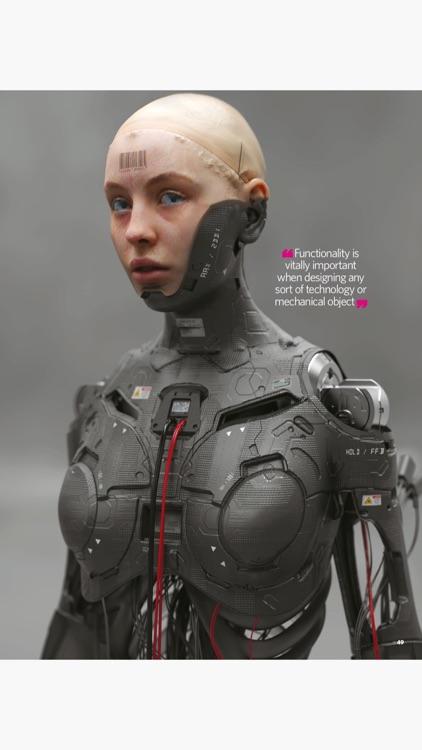 3D Artist Magazine: CG skills screenshot-8