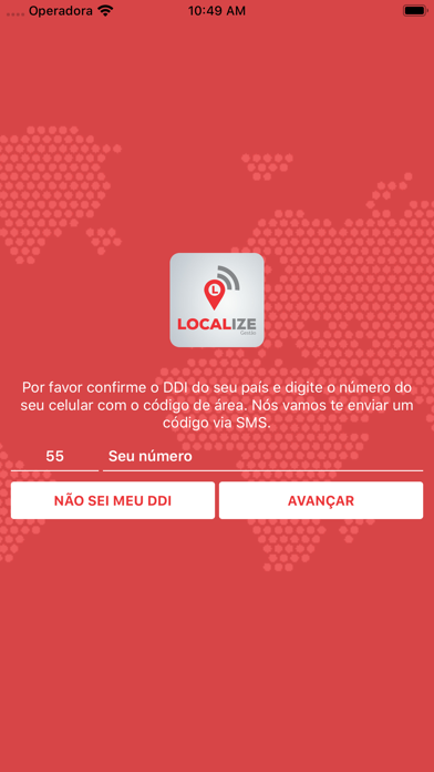 Localize Gestão de Frotas screenshot one