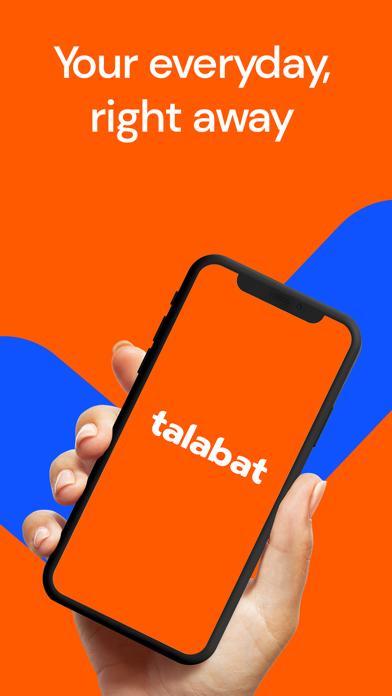 Screenshot #1 pour talabat: Food & Grocery order