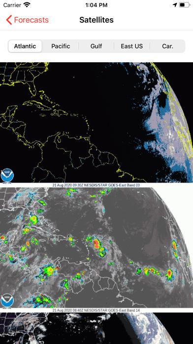 My Hurricane Tracker & Alertsのおすすめ画像2