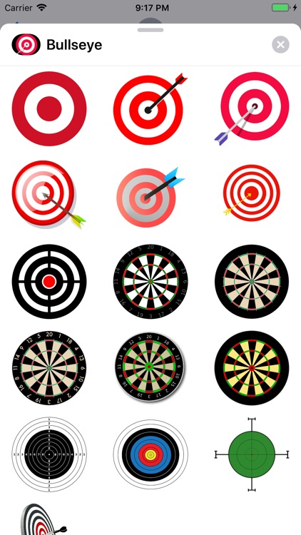 Bullseye Stickers screenshot-0