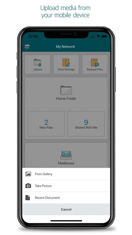 MOVEit Mobile screenshot-3