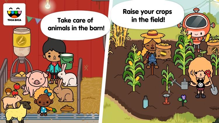 Toca Life: Farm screenshot-0