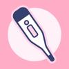 シンプル基礎体温:生理管理の人気の基礎体温グラフ