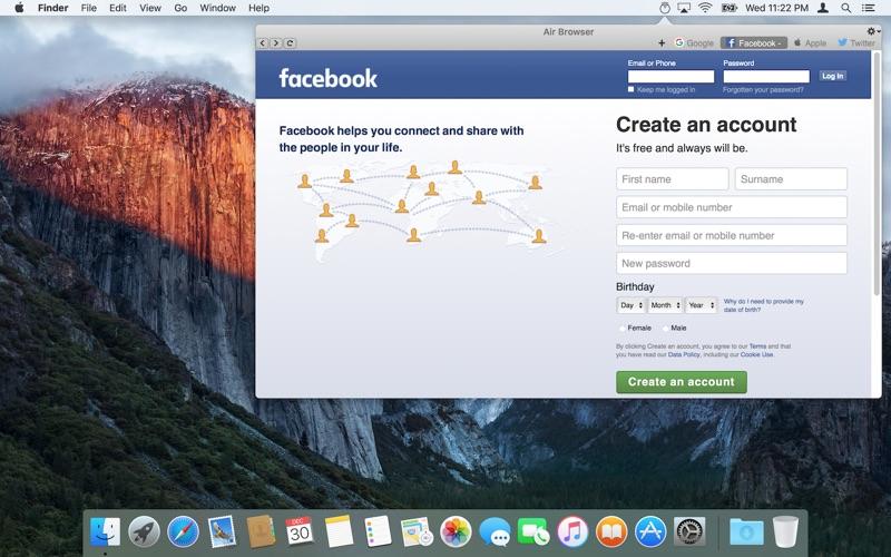 Air Browser скриншот программы 3
