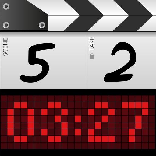 DSLR Clapperboard iOS App