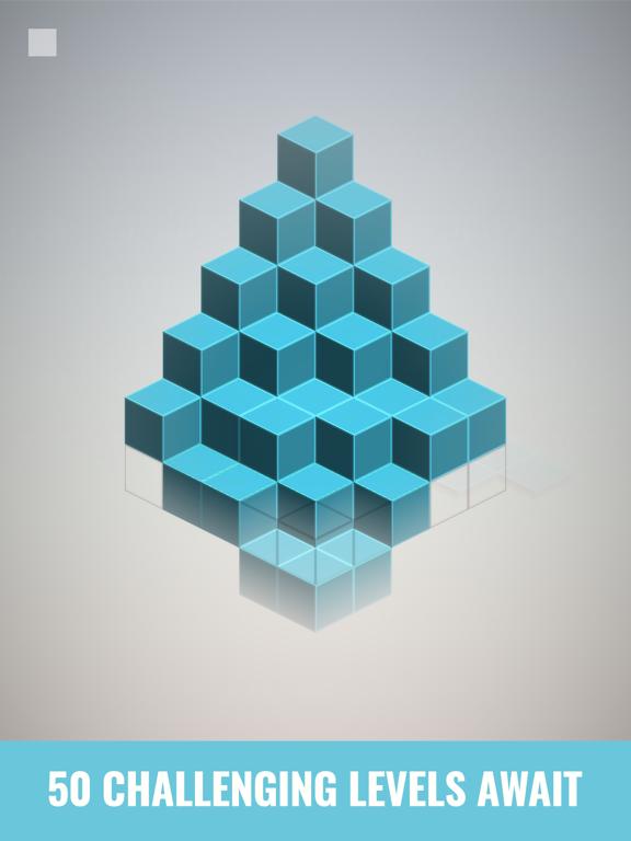 Isometric Squares - puzzle ²のおすすめ画像6