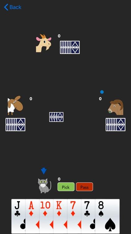 Sheepshead, the App screenshot-4