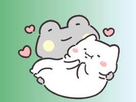Cute Frog Stickers pack