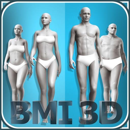BMI 3D Pro (3D Body Mass Index calculator)