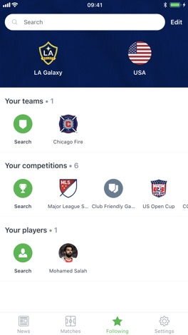 Onefootball - Soccer Scores screenshot for iPhone