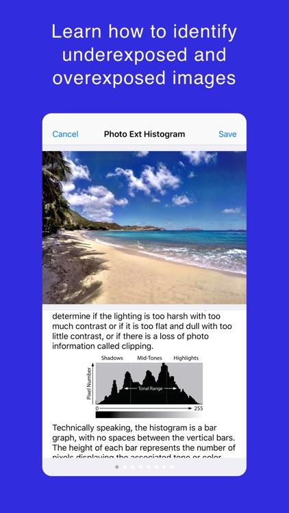 Photo Extension Histogram screenshot-4