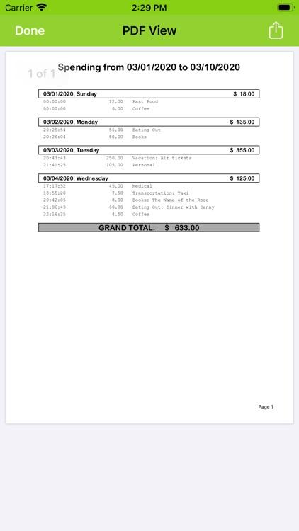 Pico Spend - Expense Tracker screenshot-6