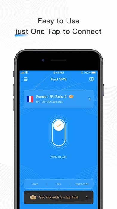 Fast VPN: Private VPN Proxyلقطة شاشة5