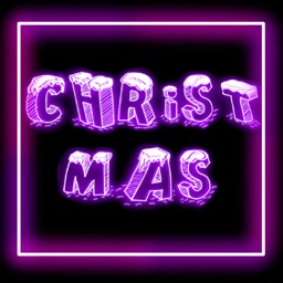 Neon Christmas Sticker Pack
