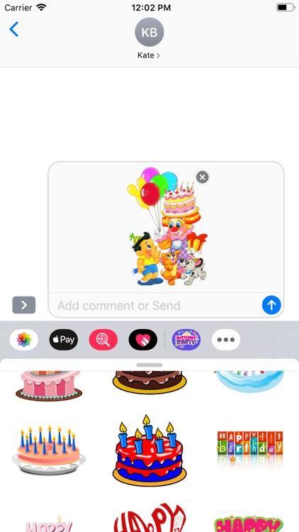 Happy Birthday | Stickers Pack screenshot-6
