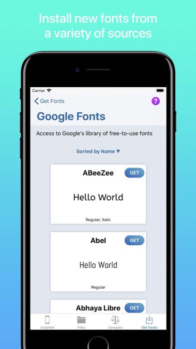 iFont: find, install any font for Windows