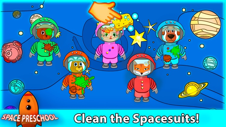 Space Dogs Preschool Pro screenshot-3