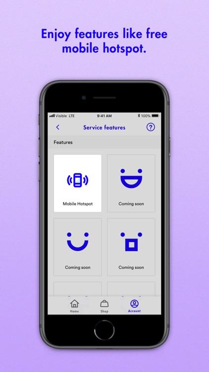 Visible Phone Service screenshot-5