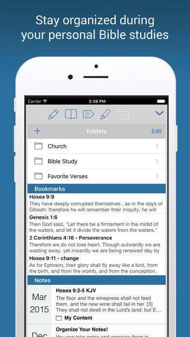 Screenshot for NIV Bible in Finland App Store