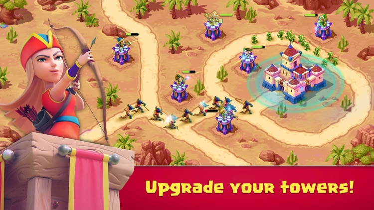 Toy Defense Fantasy — TD Tower screenshot-8