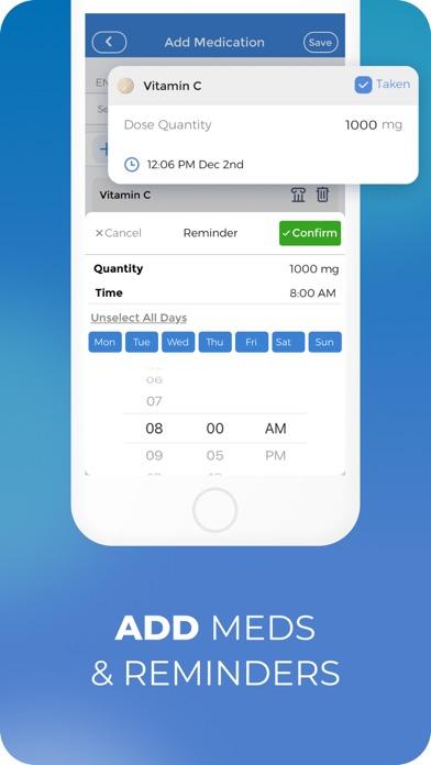 CareClinic • Tracker, Reminder Screenshot