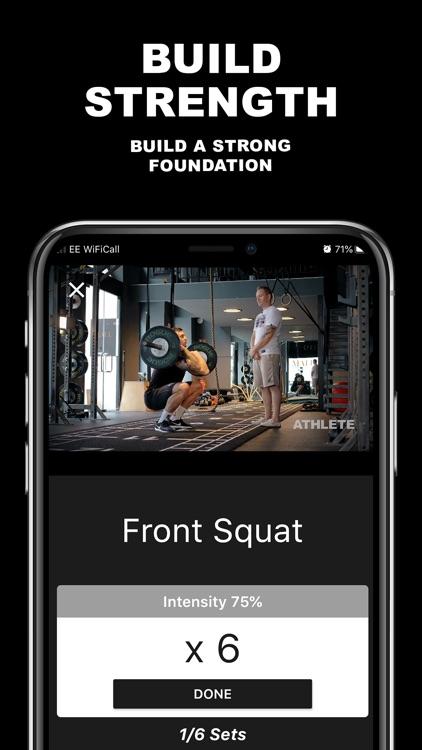 ATHLETE.CO MMA Workout Program screenshot-3