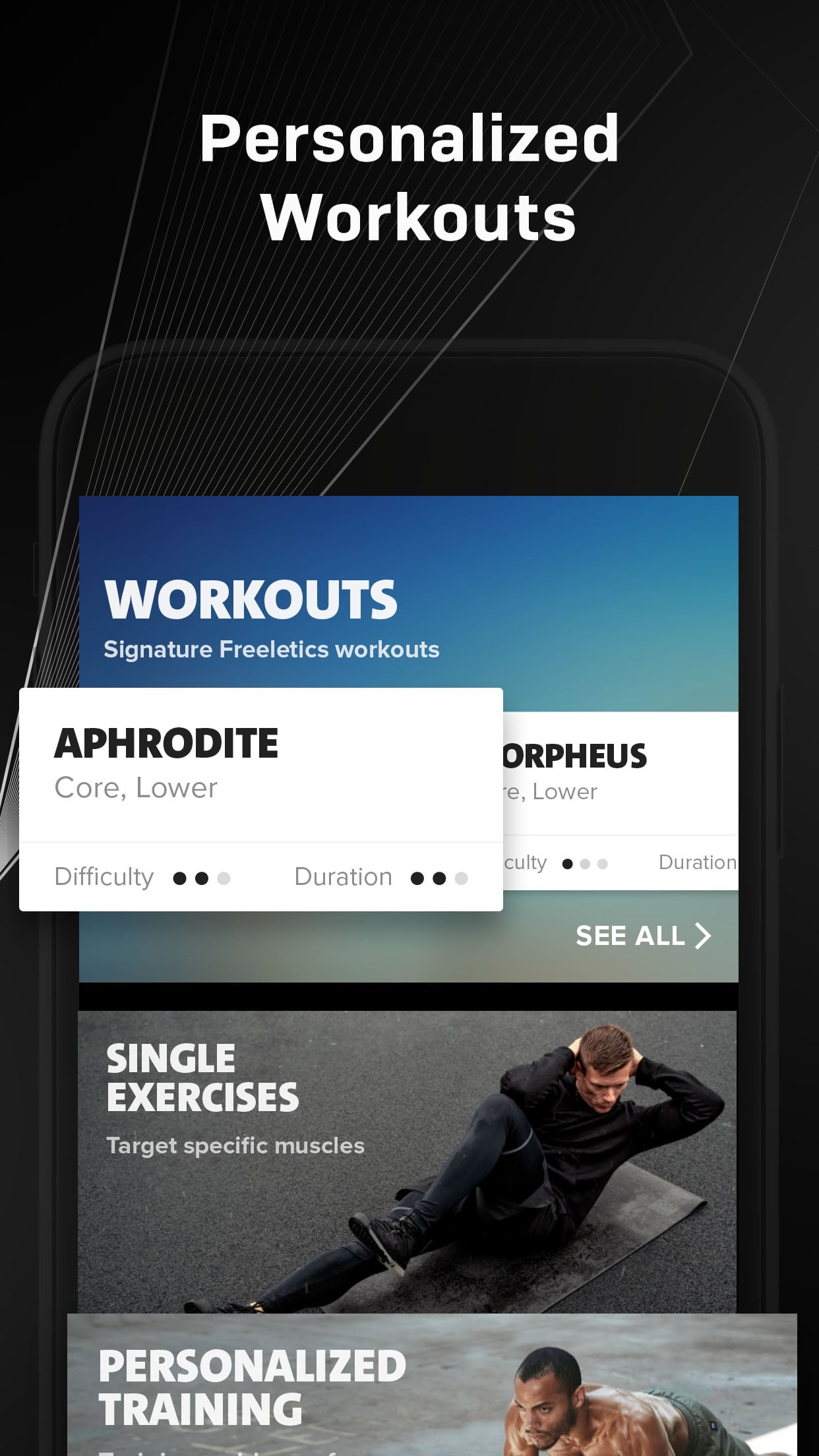 Freeletics: Workout & Fitness Screenshot