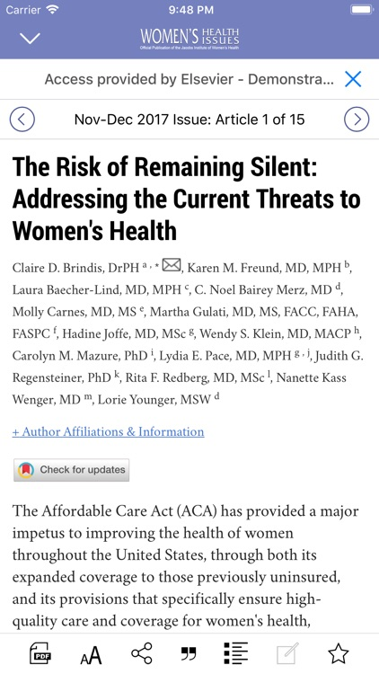 Women's Health Issues screenshot-3
