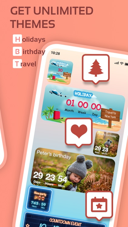 Countdown widget & timer 321 screenshot-3