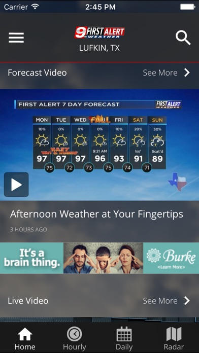 KTRE 9 First Alert Weather on PC: Download free for Windows 7, 8, 10