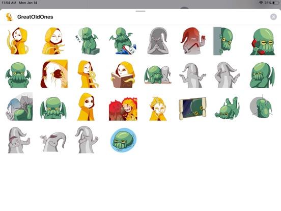 Alien Cute Pun Funny Stickers screenshot 4