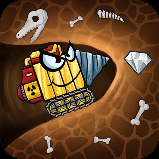 Digger машины: найти минералы