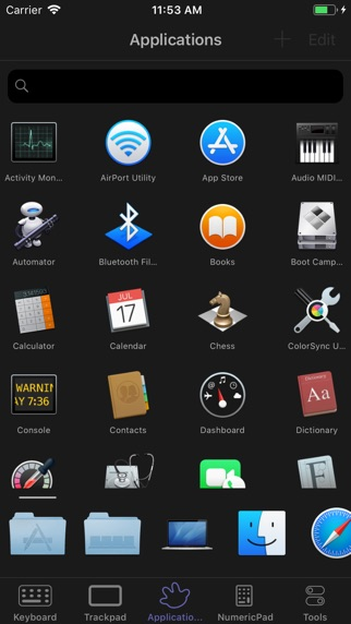 FullControl: Telecomando Mac